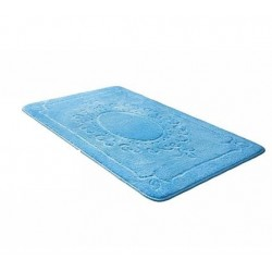 Коврик для ванной SHAHINTEX ЭКО 60*90 голубой