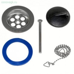 Комплект №4 для ремонта сифонов с нержавеющей чашкой